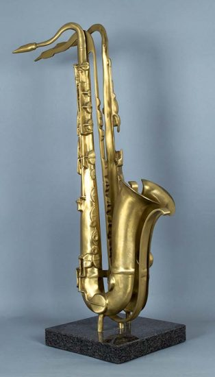 Arman Sculpture, Untitled (Saxophone), 1984