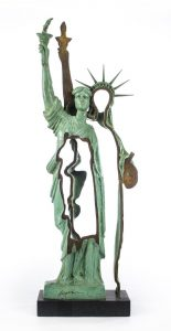 Arman Sculpture, Slices of Liberty, 1985