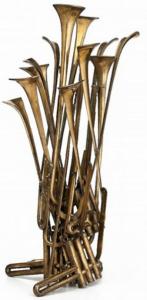 Arman Sculpture, Chorus, 1983