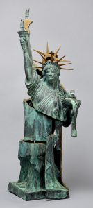 Arman Sculpture, Statue of Liberty