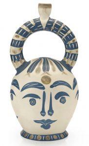 Pablo Picasso Ceramic, Vase Aztèque aux Quatre Visages (Aztec Vase with Four Faces), 1957