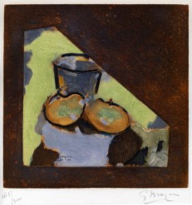 Georges Braque Aquatint, Nature morte oblique (Oblique Still Life), c. 1950