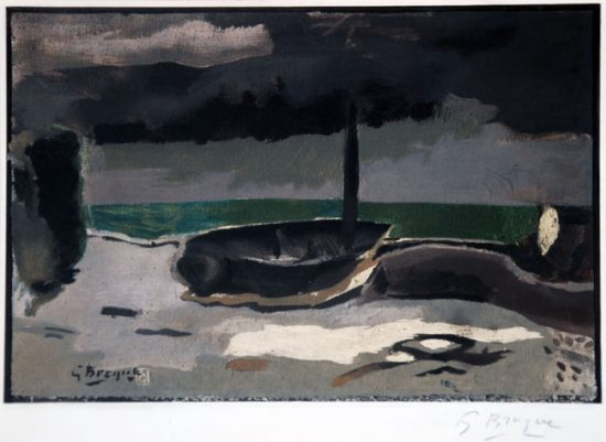 Georges Braque Collotype, La Barque, 1950