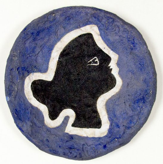 Georges Braque Sculpture, Profil (Profile), 1960