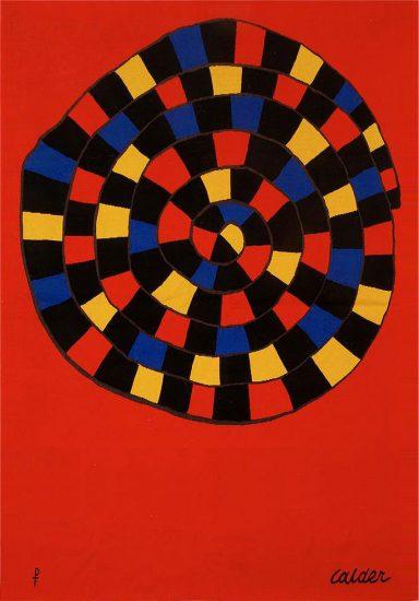 Alexander Calder Tapestry, Untitled, 1970