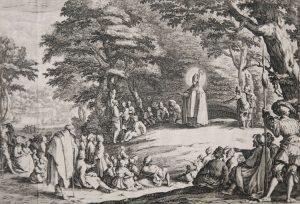 Jacques Callot Engraving, St. Amand, c. 1622