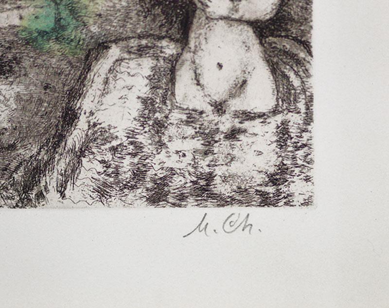 Marc Chagall, David et Bath-Schéba (David and Bathsheba) from The