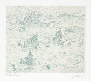 Claude Monet Lithograph, Tempête à Belle-île (Storm at Belle-île), 1894