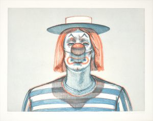 , Clown, from Recent Etchings I , 1979