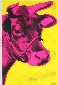 Andy Warhol, Cow, 1966, Screenprint on Wallpaper (F&S.II.11)
