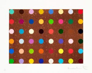 Damien Hirst Screen Print, Proctolin, 2008