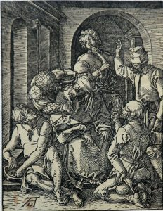 Albrecht Dürer Woodcut, The Mocking of Christ (The Small Passion), c. 1511