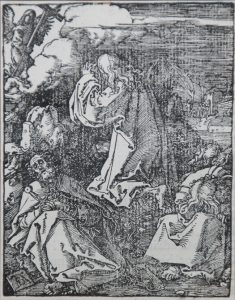 Albrecht Dürer Woodcut, Agony in the Garden (The Small Passion), 1612