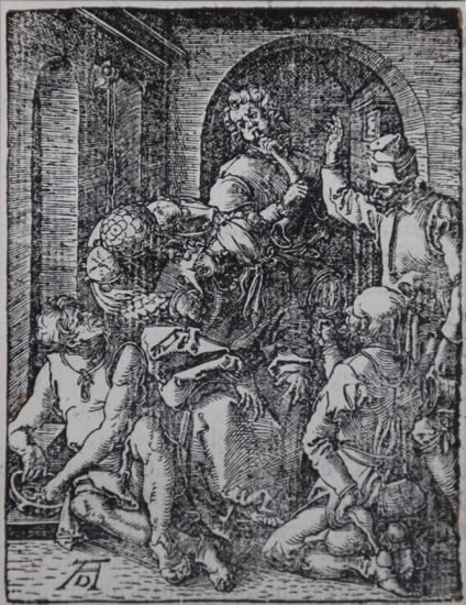 Albrecht Dürer Woodcut, The Mocking of Christ (The Small Passion), 1612