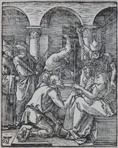 Albrecht Dürer Woodcut, Christ Crowned with Thorns (The Small Passion), 1612