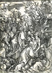 Albrecht Dürer Woodcut, Deposition of Christ (The Large Passion), c. 1496-97