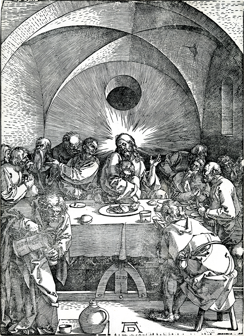 Albrecht D 252 Rer The Last Supper The Large Passion 1510
