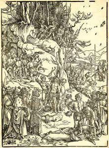 Albrecht Dürer, The Martyrdom of Ten Thousand, c. 1496
