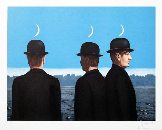 René Magritte Lithograph, The Masterpiece or the Mysteries of the Horizon