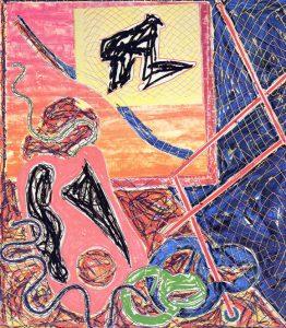 Frank Stella Shards I, 1982