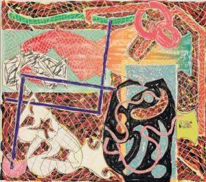 Frank Stella Shards II, 1982