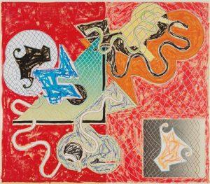 Frank Stella Shards IV, 1982