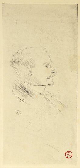Henri de Toulouse-Lautrec Etching, W.H.B. Sands, éditeur, 1898
