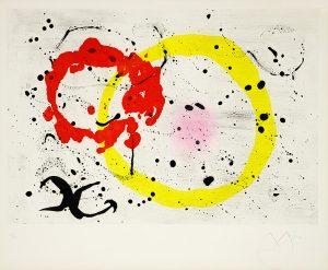 Joan Miró Aquatint, Fond Marin II (Seabed II), 1963