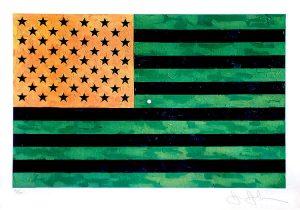 Jasper Johns, Flag, 1969