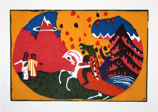 Wassily Kandinsky, Berge (Mountains), 1911