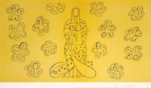 Henri Matisse Lithograph, La Vierge et l'Enfant (Virgin and Child), 1949