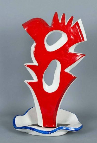 Fernand Léger Ceramic, Le Grand Coq (The Large Rooster), 1952