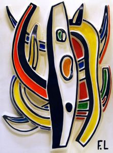 Fernand Léger Sculpture, Abstract Composition, 1953