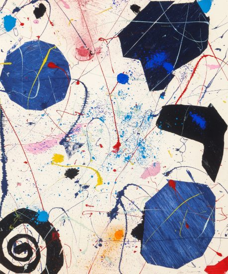 Sam Francis Monotype, Monotype Untitled