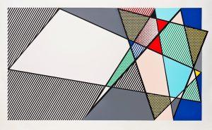 """Roy Lichtenstein Woodcut, Imperfect """"58 x 92 3/8"""""""