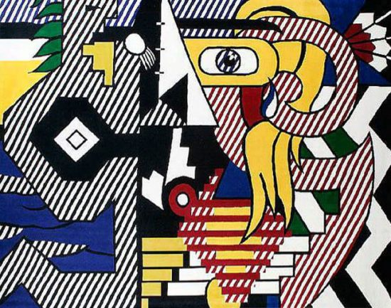 Roy Lichtenstein Tapestry, Amerind Landscape, 1979