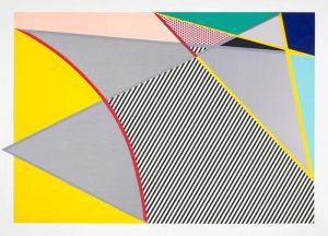 Roy Lichtenstein Woodcut, Imperfect 67 5/8 in x 91 1/2in