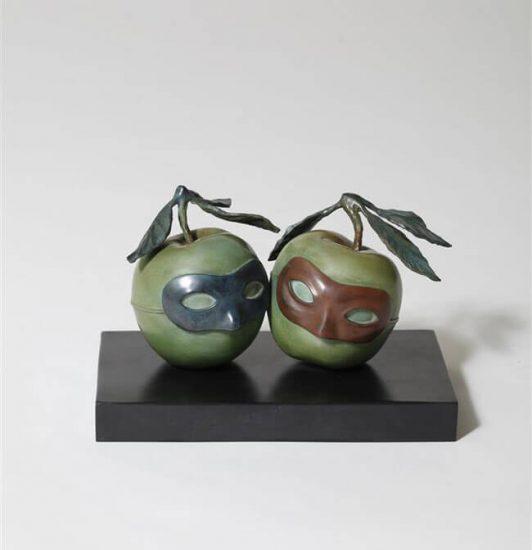 René Magritte Sculpture, The Hesitation Waltz (La Valse Hésitation), 1950