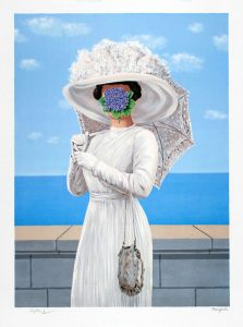 René Magritte Lithograph, La grande guerre (The Great War), 1964, Series 1