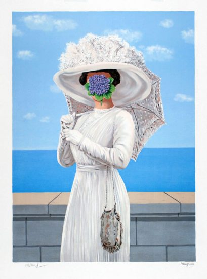René Magritte Lithograph, The Great War (La grande guerre), 1964, Series 1