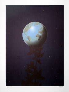 René Magritte Lithograph, Le grand style (Great Style)
