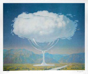 René Magritte Lithograph, La corde sensible (Heartstring)
