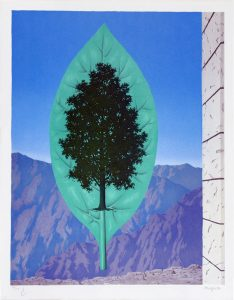 René Magritte Lithograph, Le dernier cri (The Last Word)