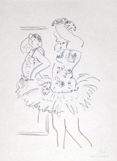 Henri Matisse Lithograph, Danseuse Au Miroir, 1927