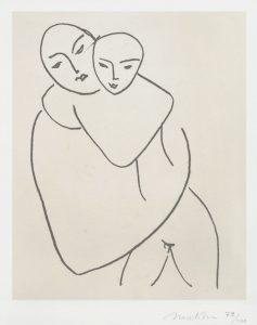 Henri Matisse Lithograph, Vierge et Enfant (Madonna and Child), 1950 - 1951
