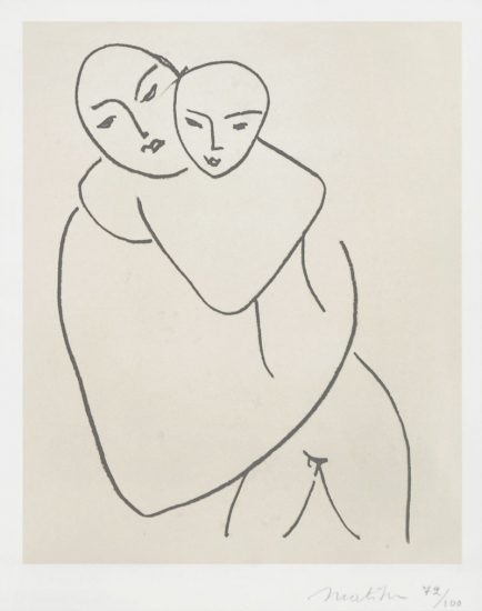 Henri Matisse Lithograph, Vierge et Enfant (Madonna and Child), 1950 - 1951