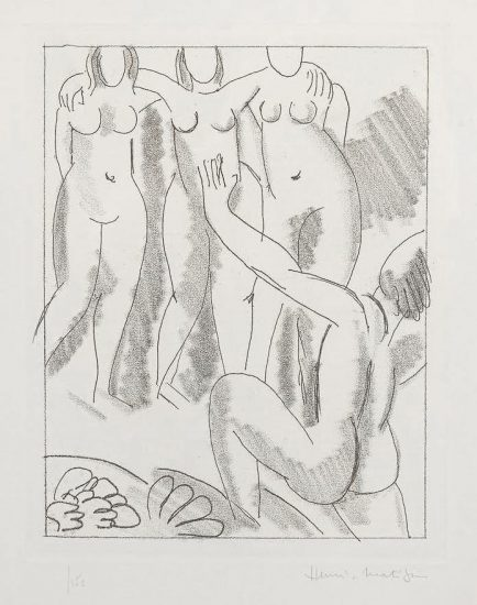 Henri Matisse Etching, Nausicaa from Ulysses, 1935