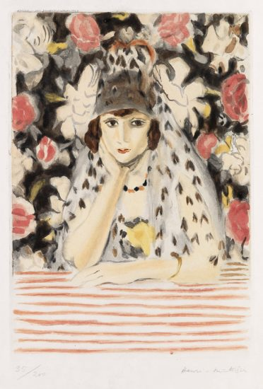 Henri Matisse Lithograph, L'Espagnole (The Spaniard), 1928