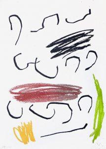Joan Miró Lithograph, Lithograph VII from Miró, Obra Inedita Recent, 1964