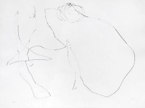 Joan Miró Etching, Flux de l'Aimant V (Magnetic Flow No. 5), 1964